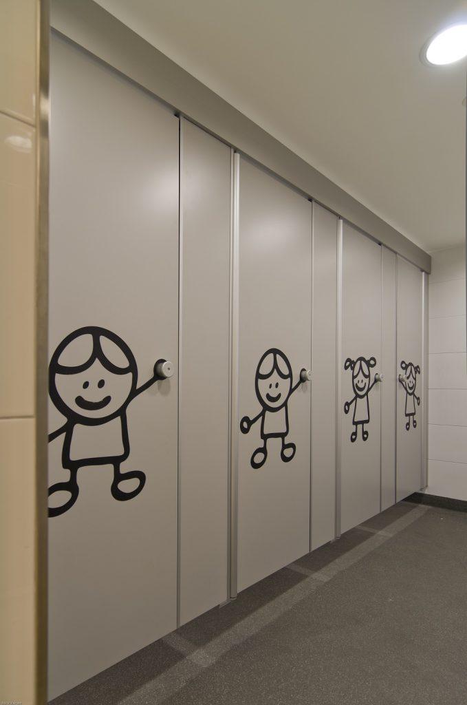 Hermeta HerboKern Secure Plus sanitaire wanden toilet Brede school Asperen