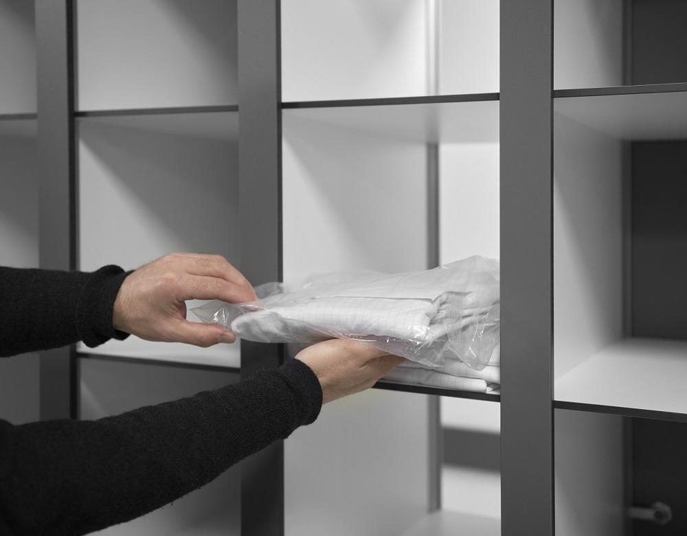 Hermeta Interieurbouw Garderobes lockers kleedruimte van de toekomst concept Gauvidan