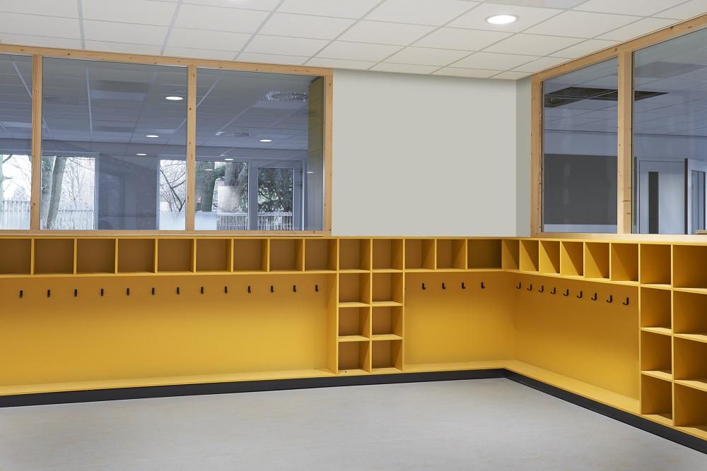 Hermeta Interieurbouw HIP2SCHOOL schoolgarderobes inrichting concept So Fier Utrecht